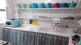 Minha cozinha depois da reforma.