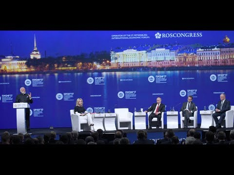 PM Modi at Plenary session of St Petersberg International Economic Forum, Russia