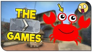 THE CRAB CHALLENGE! | CS:GO Silver Games!