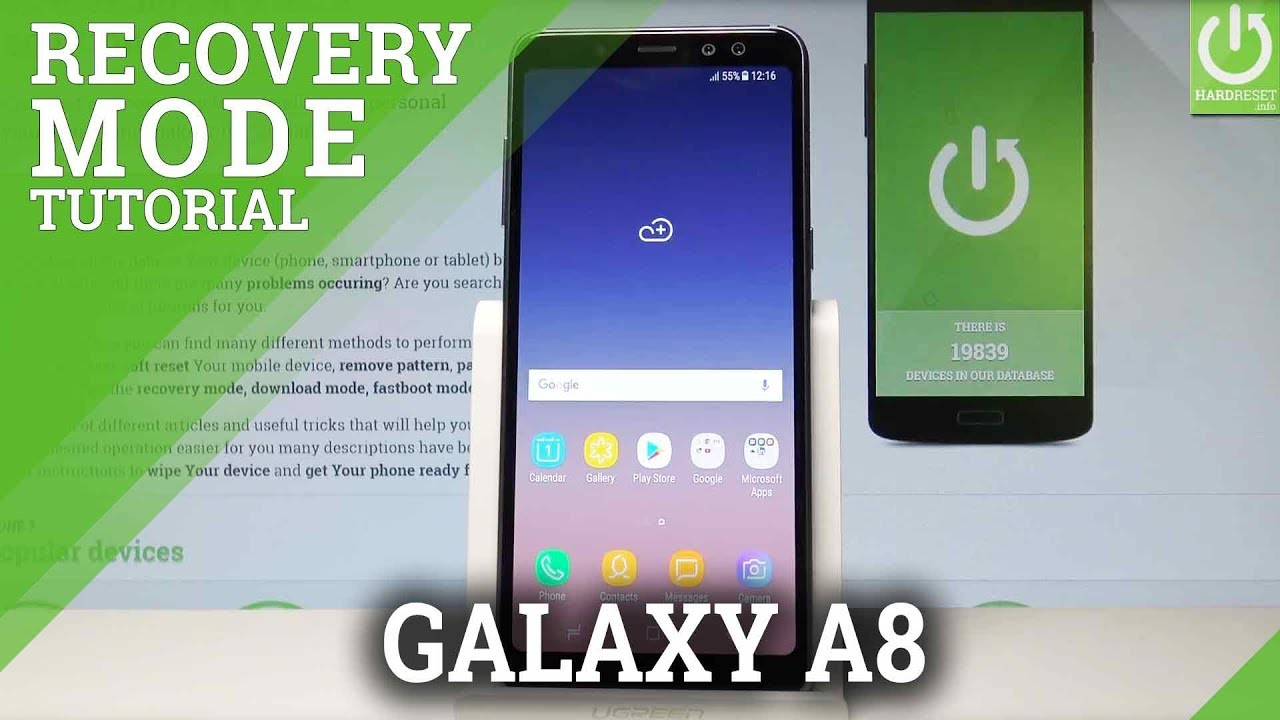 How to Boot Into Recovery Mode in SAMSUNG Galaxy A8 (2018) |HardReset info