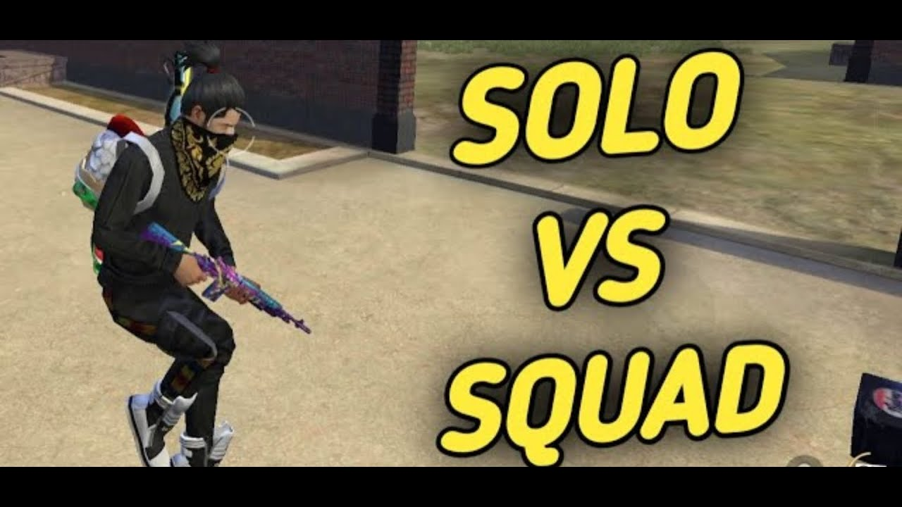 Solo Vs Squad Full Rush Gameplay In Rank Match
