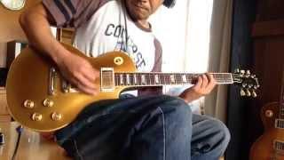 how to play https://www.youtube.com/watch?v=KLkM6ETp8kU ギターソロ...