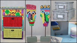 ManosalaObraTv 2019 Programa 37 - Imitacion Galvanizado - Mascaras Africanas - Masa Talla