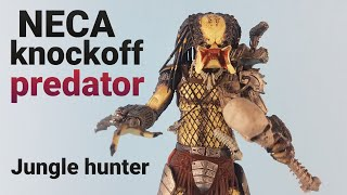 HD Knockoff neca predator jungle hunter unmasked 30th anniversary figure unboxing /bootleg ?
