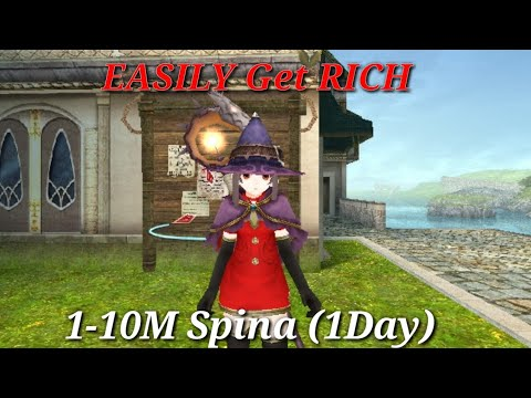 Toram Online - Get RICH EASILY 1-10M SPINA(1DAY)