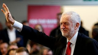 Jeremy Corbyn rolls out Labour's 'free broadband' plan