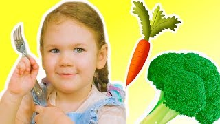 Yes Yes Vegetables Song | Nursery Rhymes & Kids Liza Songs