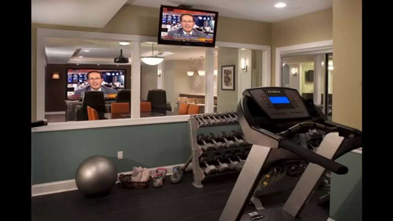 Home Gym Design: Home Gym Ideas