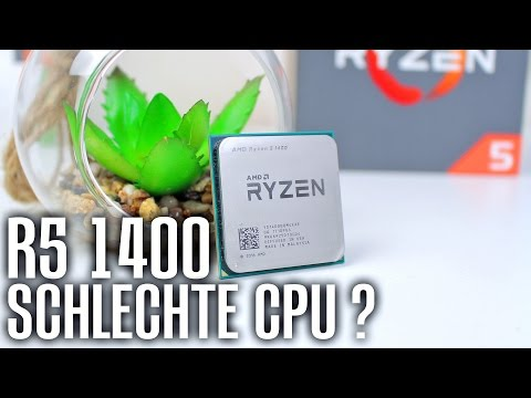 BESTE Gaming CPU Ryzen 5 1400 vs i5 7500 Battlefield 1 GTA 5 Premiere Pro CC