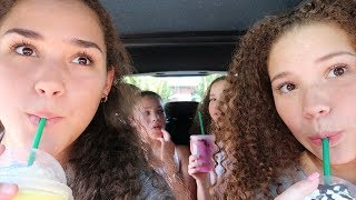 Letting The Car In Front Of Us Choose Our Starbucks Drinks!!!