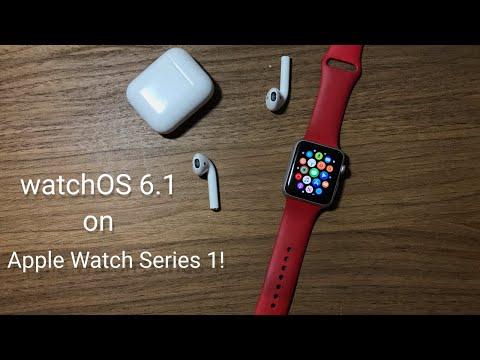 watchOS 6.1 On Apple Watch Series 1! {Overview}