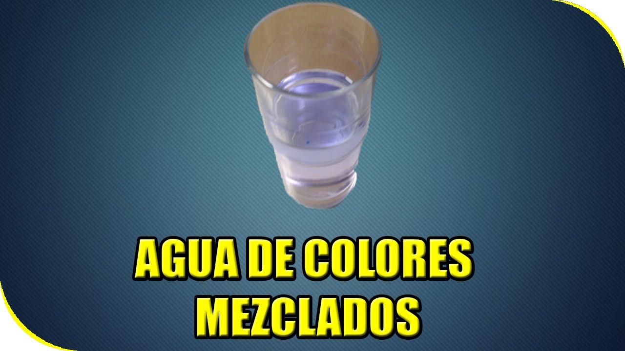 Como hacer arcoiris de colores experimentos caseros - Como hacer plastico liquido ...