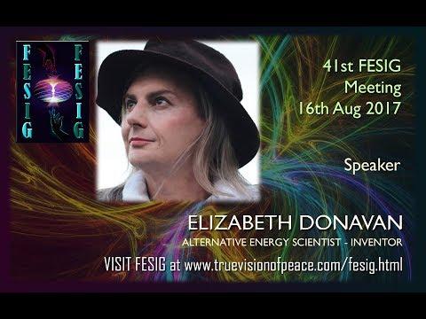 FESIG 41st Meeting with Alternative Energy Scientist Elizabeth Donavan