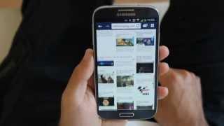 Samsung Galaxy S 4, desplazamiento inteligente (Smart Scroll)