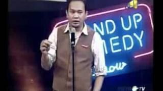 Cak Lontong - Stand up Comedy Show Metro TV 16 Nov 2011