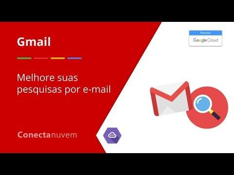 Como melhorar suas pesquisas por emails do Gmail