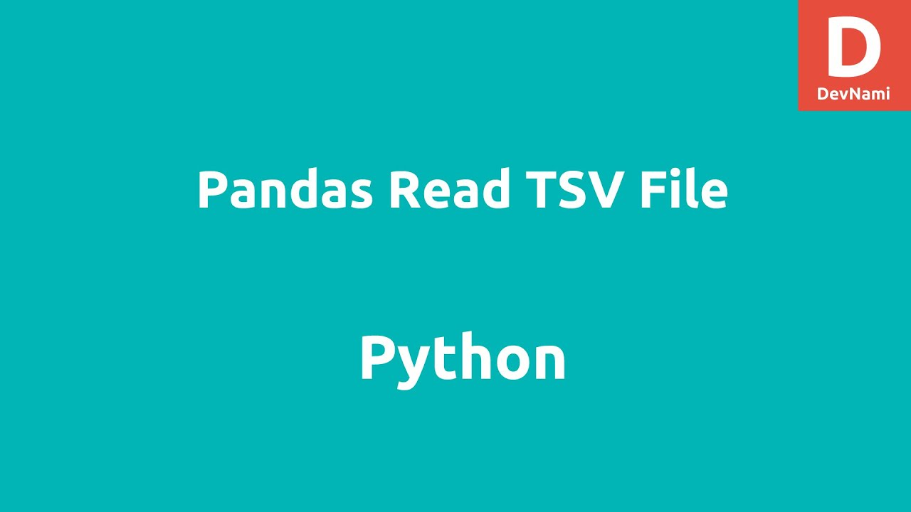 Python Pandas Read TSV File from URL