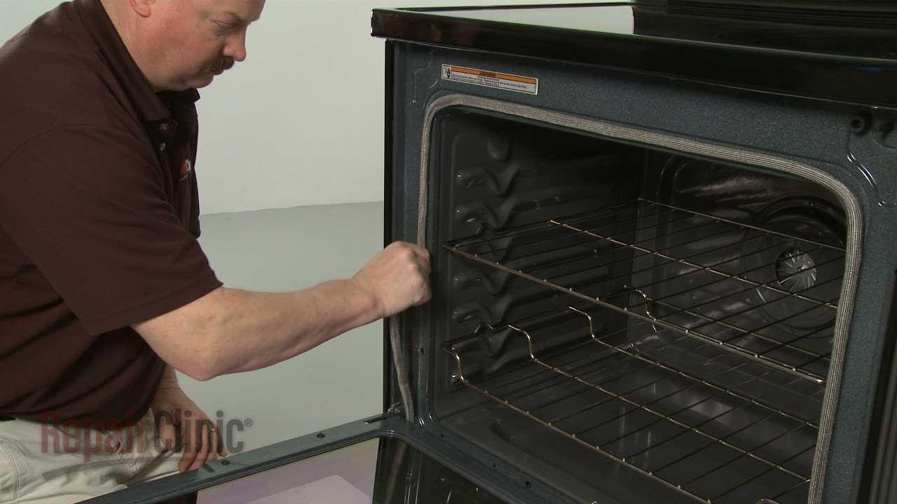 Whirlpool Range Oven Door Gasket Replacement W10162385