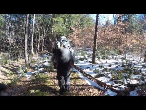 Winter Overnight Backpacking Trip 2017
