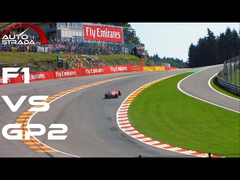 2015 F1 vs GP2 - GP3 & Porsche Supercup - [Eau Rouge Raidillon Comparison]
