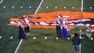 Chad Burnside Defensive # 78 Byron Center Michigan 2011 High School Homecoming  Highlights