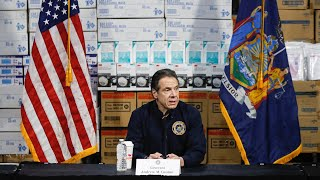 Cuomo gives update on coronavirus in New York