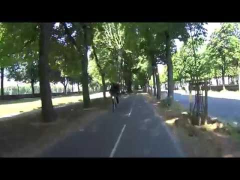 Speedbike Paris Louvre Boulogne Action Cam Sony 4K