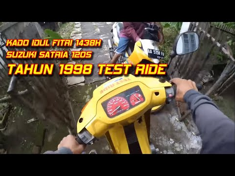 Suzuki Satria 120S TEST RIDE (limited edition) super langka || VAS Magelang