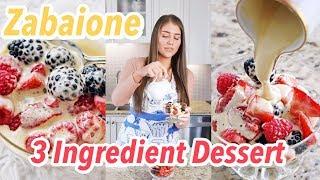 Zabaione Recipe  Easy 3 Ingredient Italian Dessert