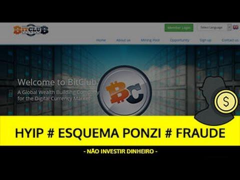 Análise BITCLUB NETWORK HYIP, ESQUEMA PONZI, FRAUDE - SCAM Cloud Mining!