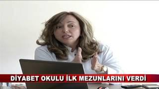 DİYABET OKULU İLK MEZUNLARINI VERDİ (18.04.2016-BOLU) -