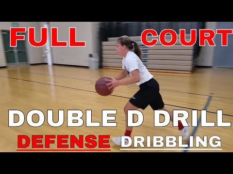 Full Court Double D Drill - Dribbling & Defense Workout for Basketball
