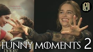 Download Emilia Clarke's Funny Moments PART 2 Mp3 and Videos