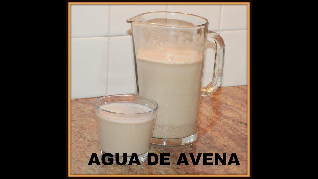 Agua De Avena Baja Los Niveles De Colesterol Youtube