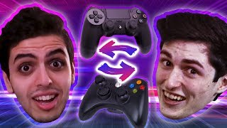 RIZZO AND SIZZ SWAP CONTROLS (FUNNIEST VIDEO WE'VE MADE)
