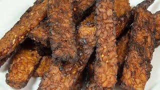Tempeh Bacon (vegan & Low Salt!)