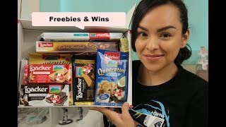 Freebies & Wins Haul for March 18th thru March 24th