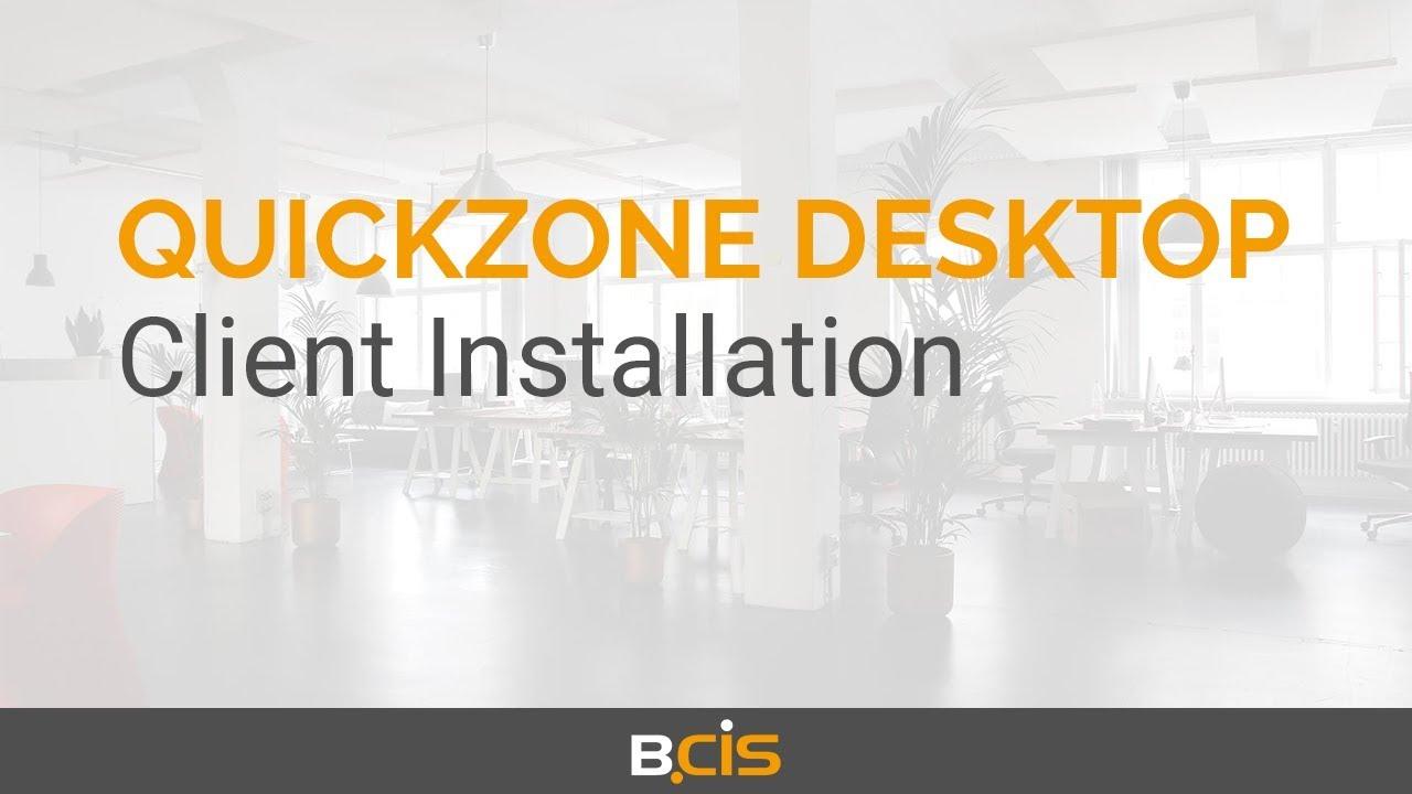 Download Quickzone Desktop for ELO - Client Installation (4/9)