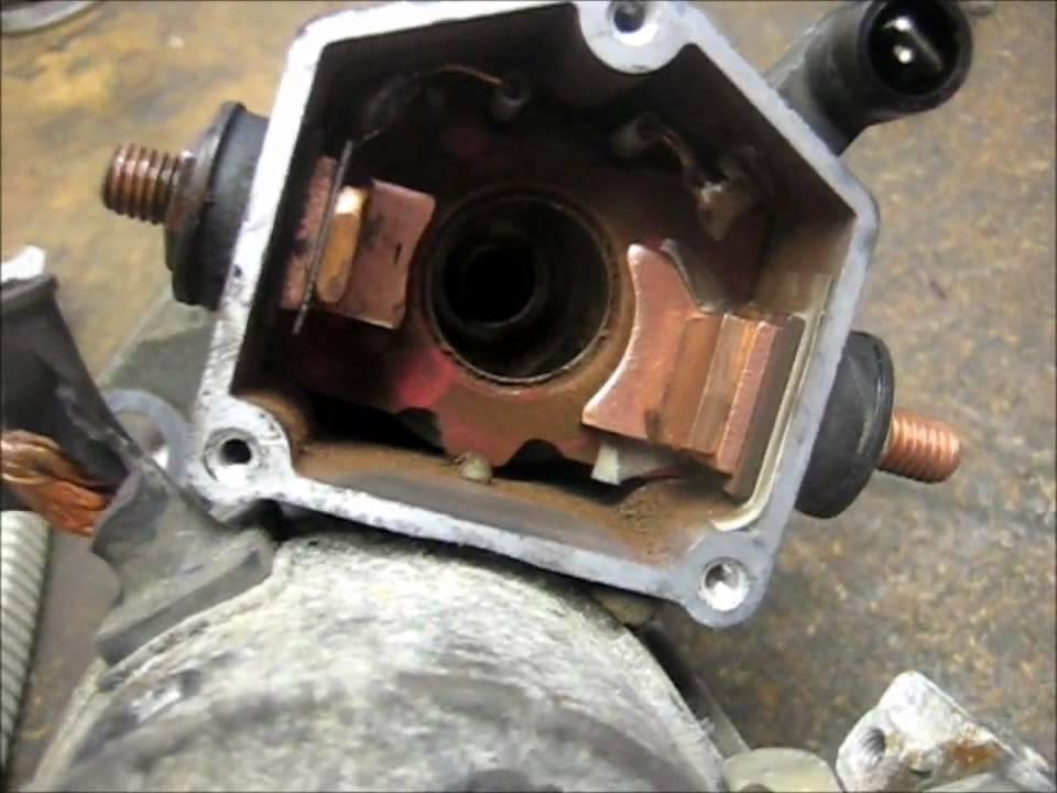 Denso Starter Repair (Honda, Toyota, Chrysler etc)  YouTube