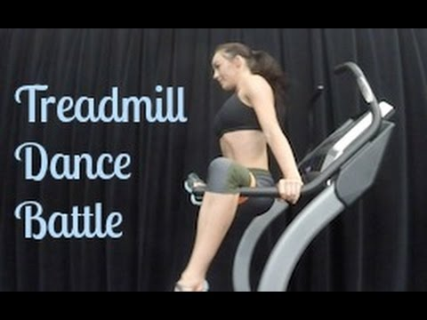 Treadmill Dance Battle
