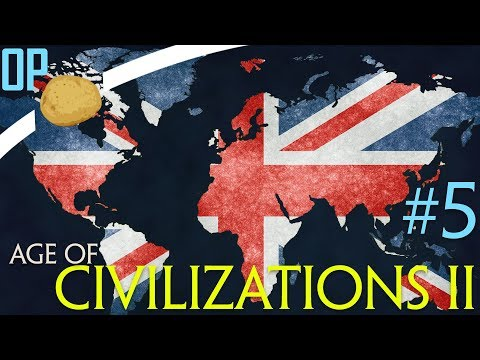 Смотреть Age of Civilizations II Let's Play - Part #5 - Modern Day Empire! - Age of Civilizations 2 Gameplay онлайн