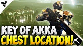 destiny how to get keys chest of akka location   key of akka chest
