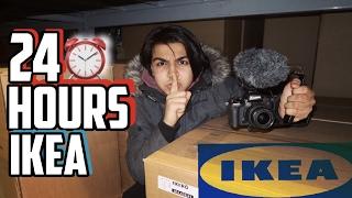(FORT!) 24 HOUR CHALLENGE IN IKEA FORT | 24 HOUR OVERNIGHT CHALLENGE IN THE WORLDS BIGGEST IKEA FORT