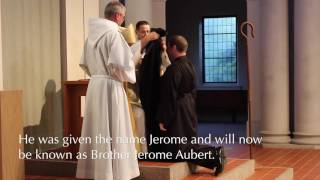 Brother Jerome Temporary Vows