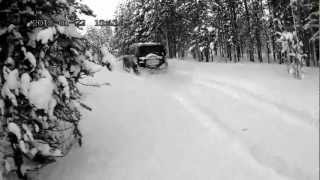 Pajero IV и немного снега