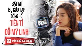 Giàu như Hoa hậu Đỗ Mỹ Linh đeo chiếc đồng hồ gì trong cuộc đua kỳ thú 2019??