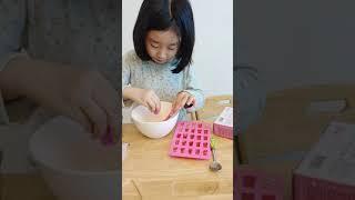더 커진 곰돌이 젤리 키트 만들기 (먹방은 다른 동영상…