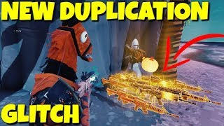 There is actually a second duplication glitch *OUT RIGHT NOW* Fortnite Save The World !!