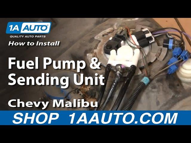 [DIAGRAM_38IU]  How to Replace Fuel Pump & Sending Unit Module 00-03 Chevy Malibu | 1A Auto | 2007 Chevy Malibu Fuel System Electrical Wiring |  | 1A Auto