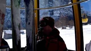 Stuck on the gondola,